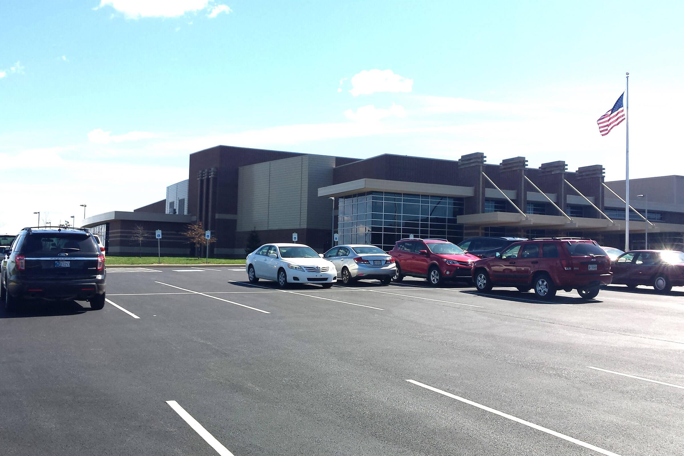brooklyn center parking lot paving